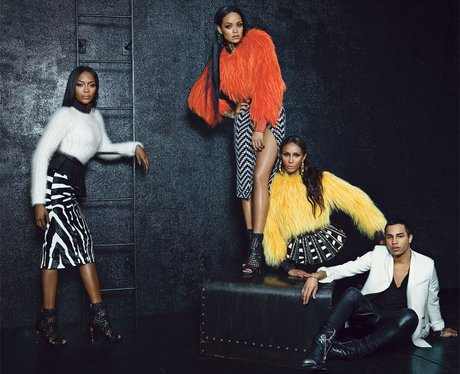 Rihanna, Iman and Naomi Campbell W Magazine