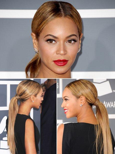 Beyonce Hair Up