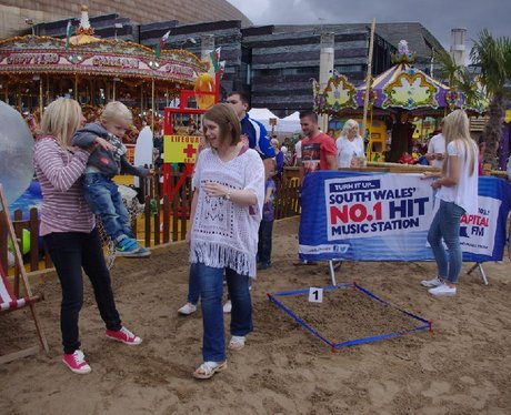 Cardiff Bay Beach - Win A Grand In The Sand Final