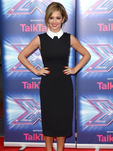 Cheryl X Factor Launch 2014