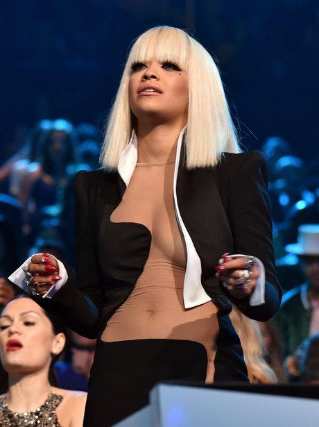 Rita Ora at the VMAs 2014