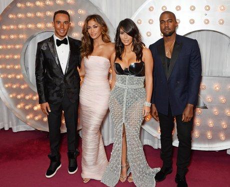 Lewis Hamilton, Nicole Scherzinger, Kim Kardashian