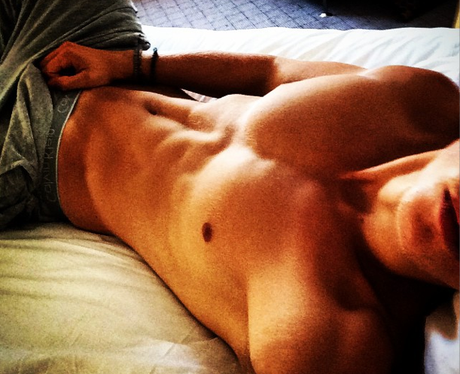 James The Vamps Abs