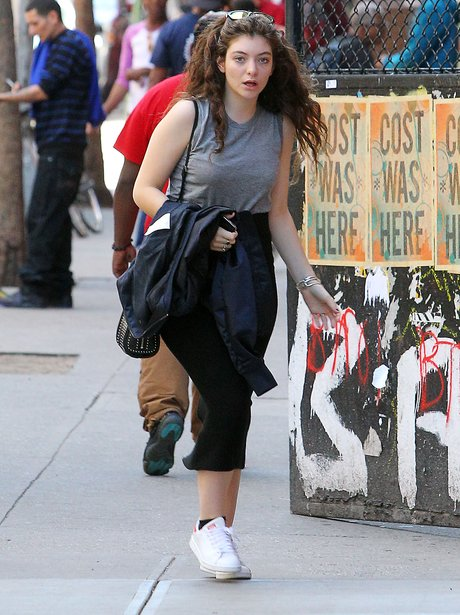 Lorde spotted in New York