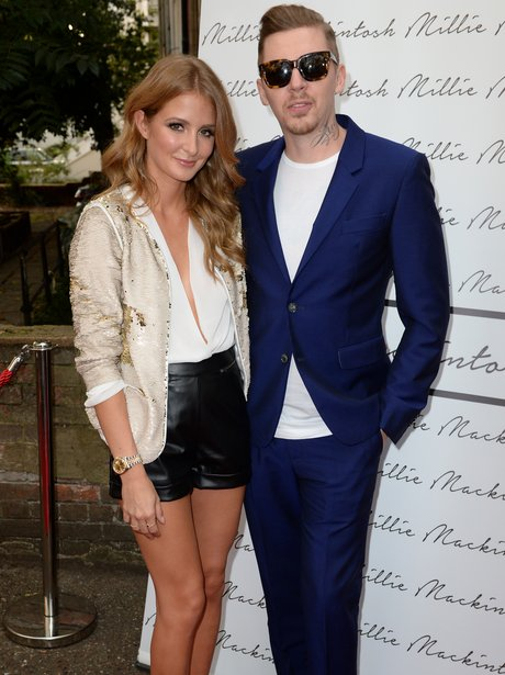 Millie Mackintosh  at her clothing launch