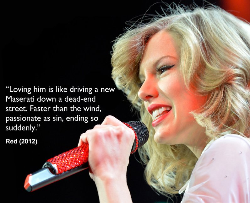 Taylor Swift Song Lyrics