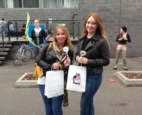 Were you pap'd by the Capital Street Team?