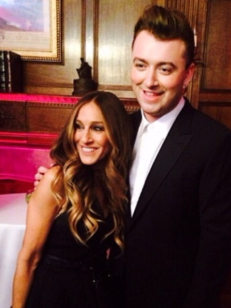 Sam Smith and Sarah Jessica Parker