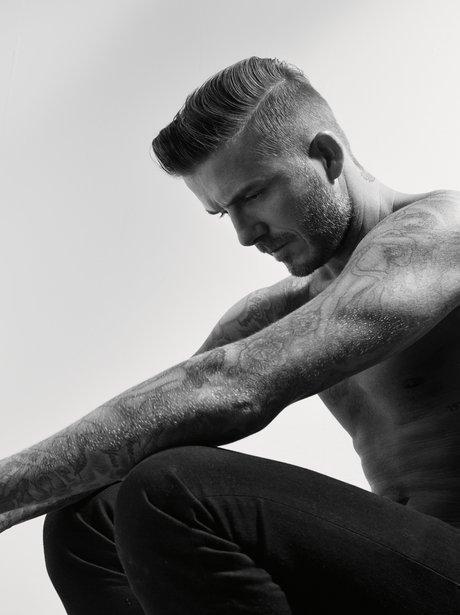 David Beckham Another Man Magazine