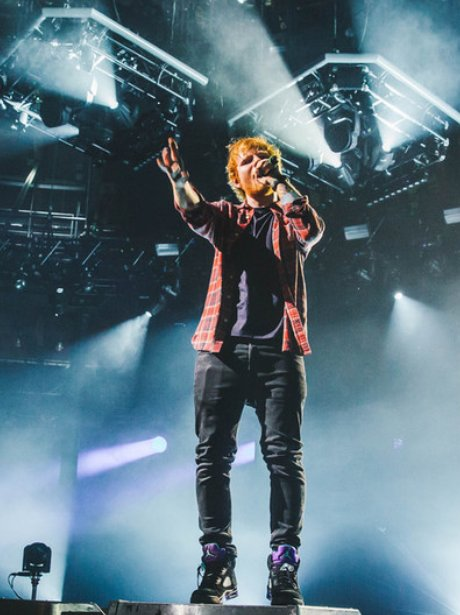 Ed Sheeran Victoria's Secret Fashion Show 2014