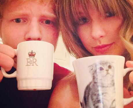 Taylor Swift Ed Sheeran Instagram
