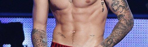 Justin Bieber Topless