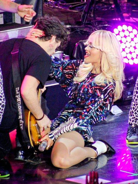 Rita Ora performs at a private performance