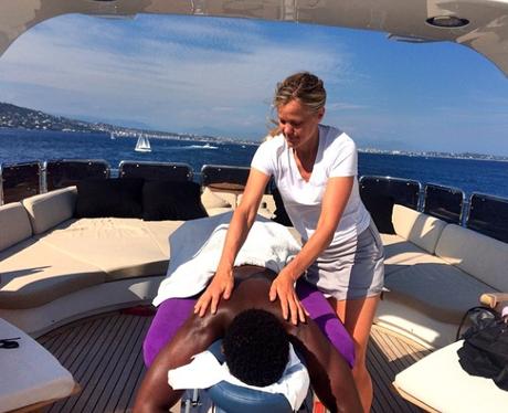 Tinie Tempah Massage Instagram