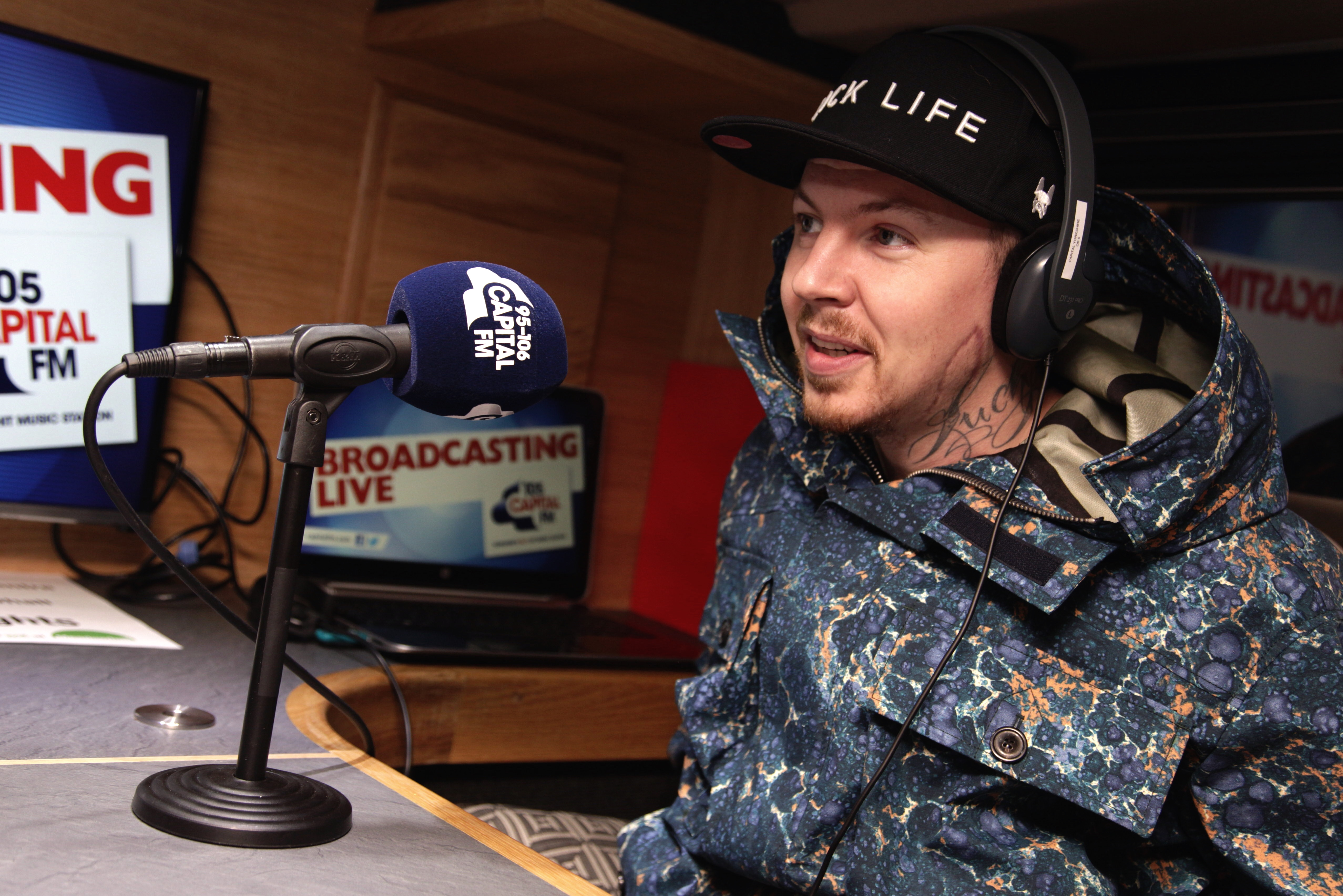 Professor Green interview backstage