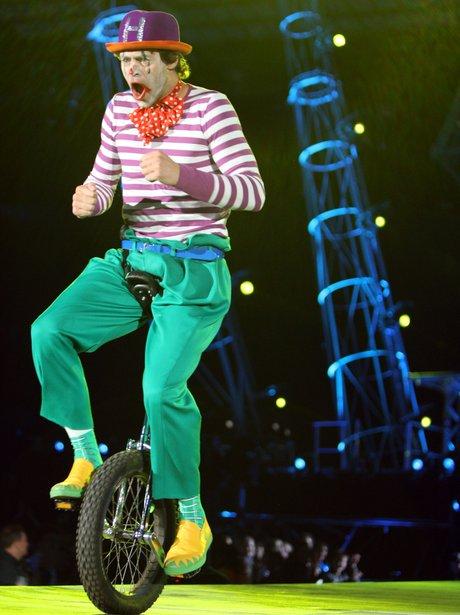 Howard Donald at the Circus