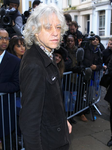 Bob Geldof Band Aid 30 recording