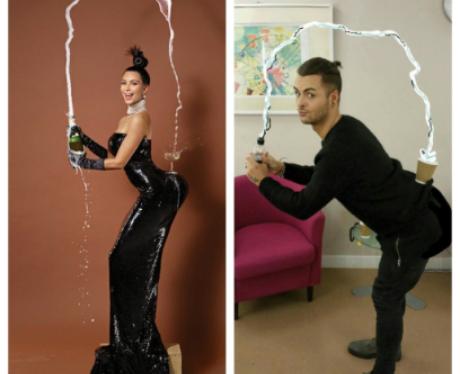 Union J Jaymi Hensley and Kim Kardashian