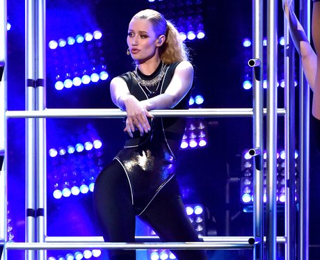 Iggy Azalea on stage American Music Awards 2014