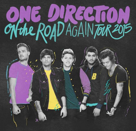 One Direction On The Road Again UK tour 2015