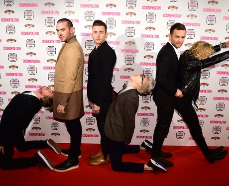 McFly The Cosmopolitan Ultimate Women of the Year