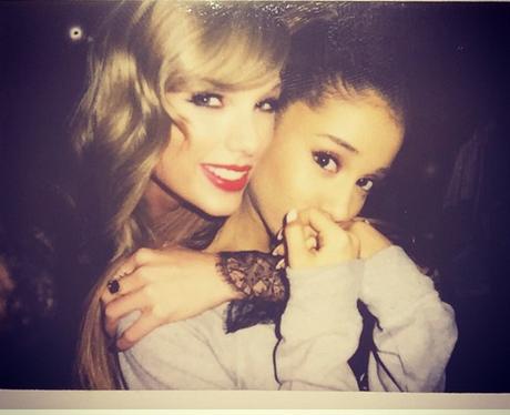 Taylor Swift Ariana Grande Victoria's Secret Insta