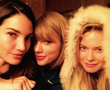 Taylor Swift, Lily Aldridge, Behati Prinsloo