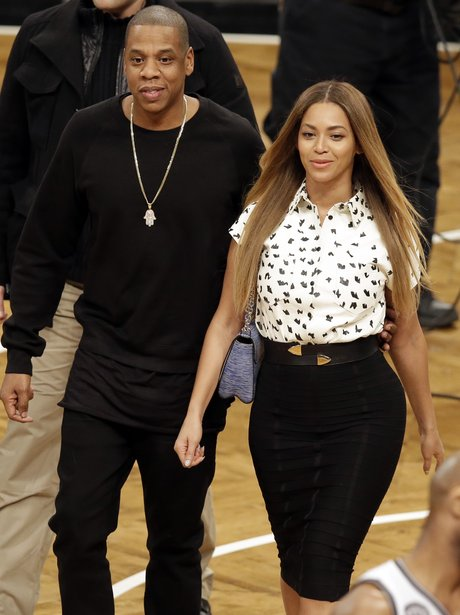 Beyonce and Jay Z after meeting Kate and Will