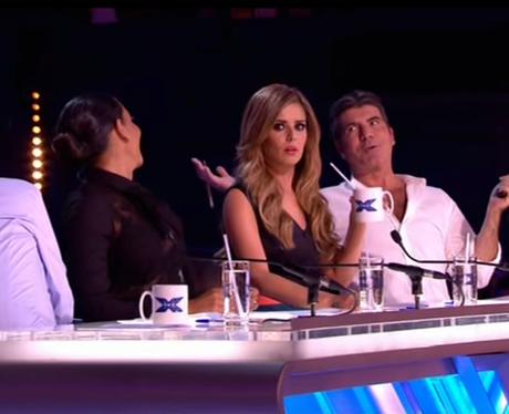 Cheryl Straw X Factor