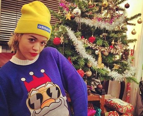 Rita Ora Christmas Jumper