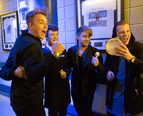 Rixton Backstage Jingle Bell Ball 2014