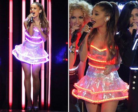 Arinna light up dress at the CMA's