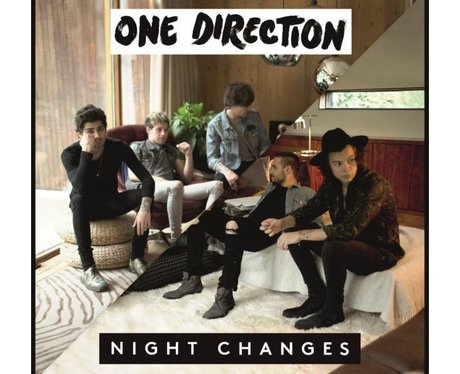 One Direction 'Night Changes' Artwork