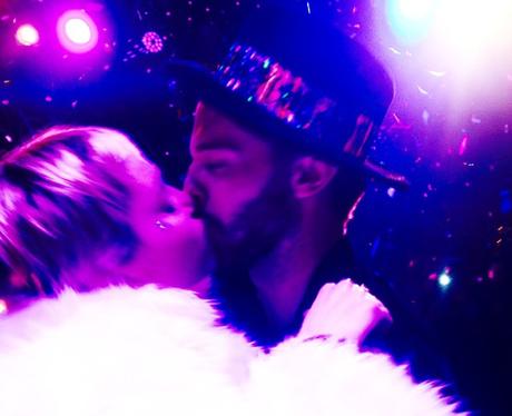Patrick Schwarzenegger and Miley Cyrus Kiss