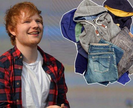 Ed Sheeran Donating Wardrobe To Homeless