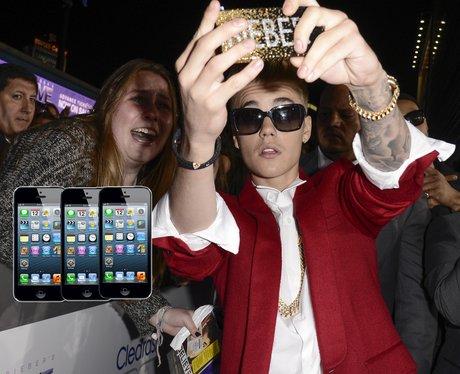 Justin Bieber Iphones Fans
