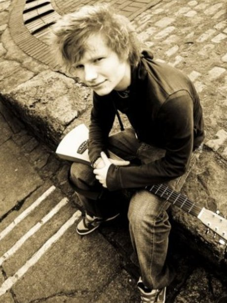 Ed Sheeran First Facebook Picture