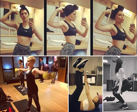 Jessie J exercise