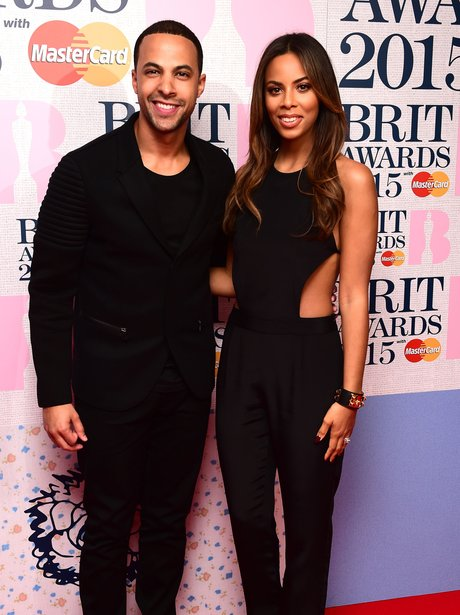 Marvin Humes and Rochelle BRIT Nominations