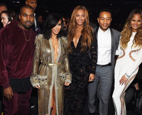Kanye West, Kim Kardashian, Beyonce, John Legend G
