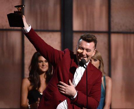 Sam Smith wins at the Grammy Awards 2015