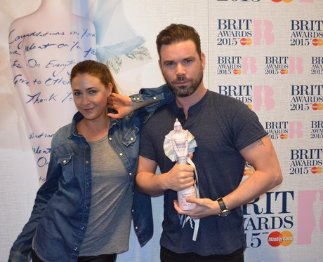 Backstage BRIT Awards 2015