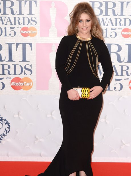 Ella Henderson BRIT Awards 2015 Red Carpet