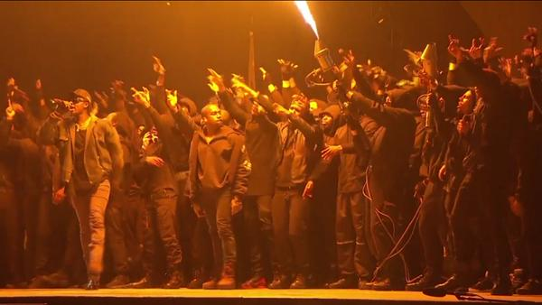 Kanye West BRIT Awards 2015