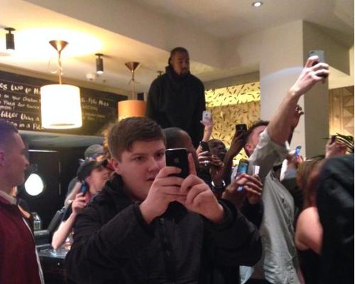 Kanye West Nandos