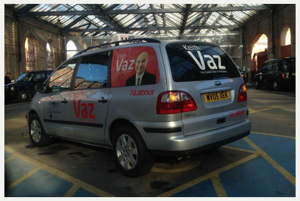 Keith Vaz Car Disabled Space