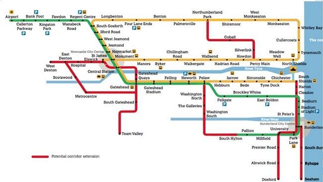 Tyne Wear Metro Extension