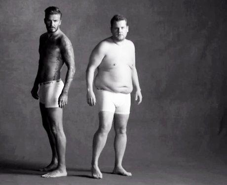 David Beckham and James Corden - Youtube