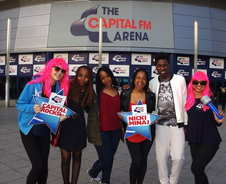 Nicki Minaj @ The Capital FM Arena