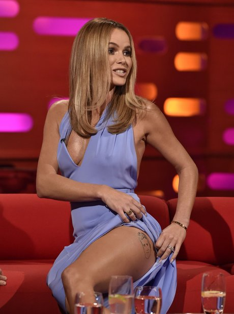 Oh No She Didn 39 T Does Amanda Holden Have A Tattoo Of
